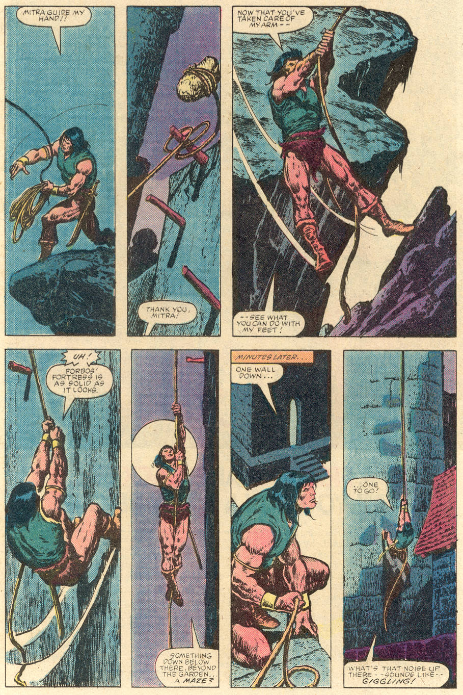 Conan the Barbarian (1970) Issue #142 #154 - English 13