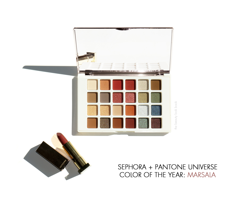 Sephora + Pantone Universe Pure Marsala Matte Lip Creme \u0026 Facets ...