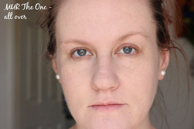 Makeup Revolution The One foundation all over