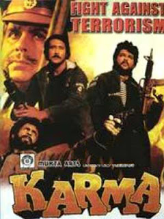 Karma anil kapoor jackie shroff dilip kumar sridevi hindi movie my bollywood stars
