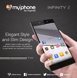 MyPhone Infinity 2, 5-inch HD 64-bit Octa Core LTE