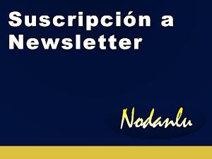Suscripción al Newsletter