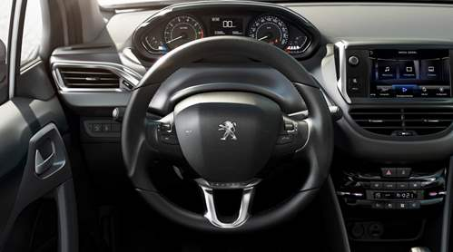 novo Peugeot 208 2014 interior