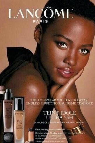 Campanha da Lancôme com Lupita Nyong'o é divulgada