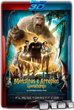 Goosebumps - Monstros e Arrepios Torrent Dublado