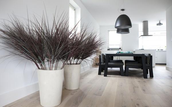 Zwarte Keuken Houten Vloer : Een nieuwe KIJK op wonen & werken