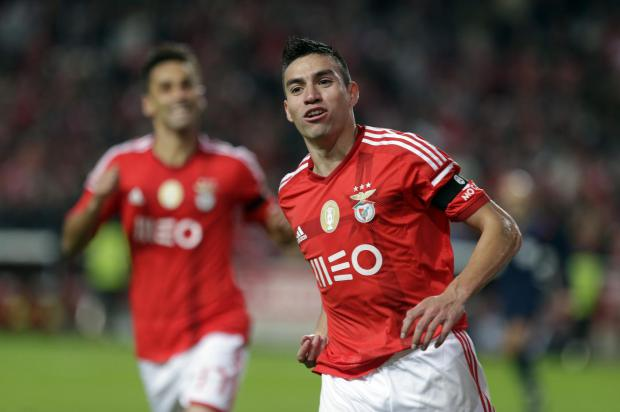 Nicolas Gaitan catching scouts' eyes (Picture: AP Photo)