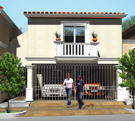 Fachadas mexicanas y estilo mexicano fachada de casa - Fachadas rusticas ...