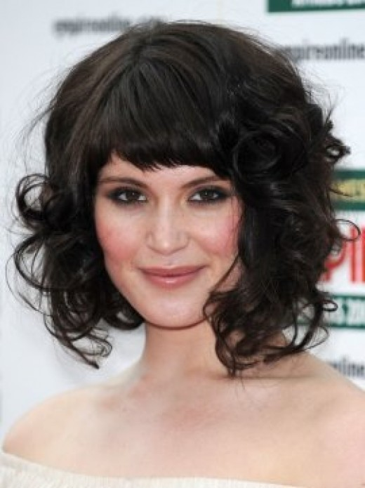Natural Curly Medium Hairstyles