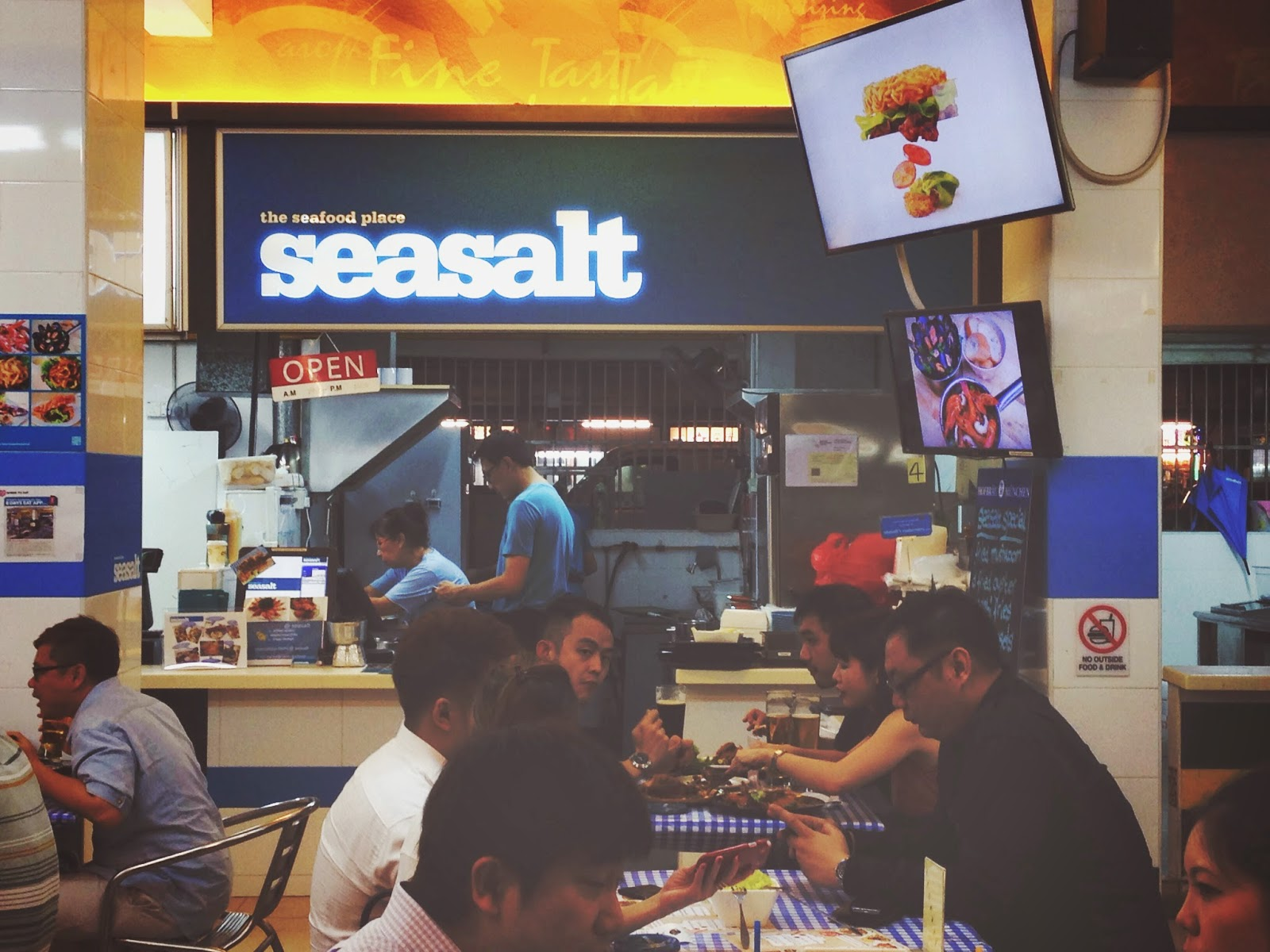 Seasalt at Salute Coffeeshop at Bukit Merah Lane 1