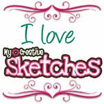 Join in the monthly sketch challenge...