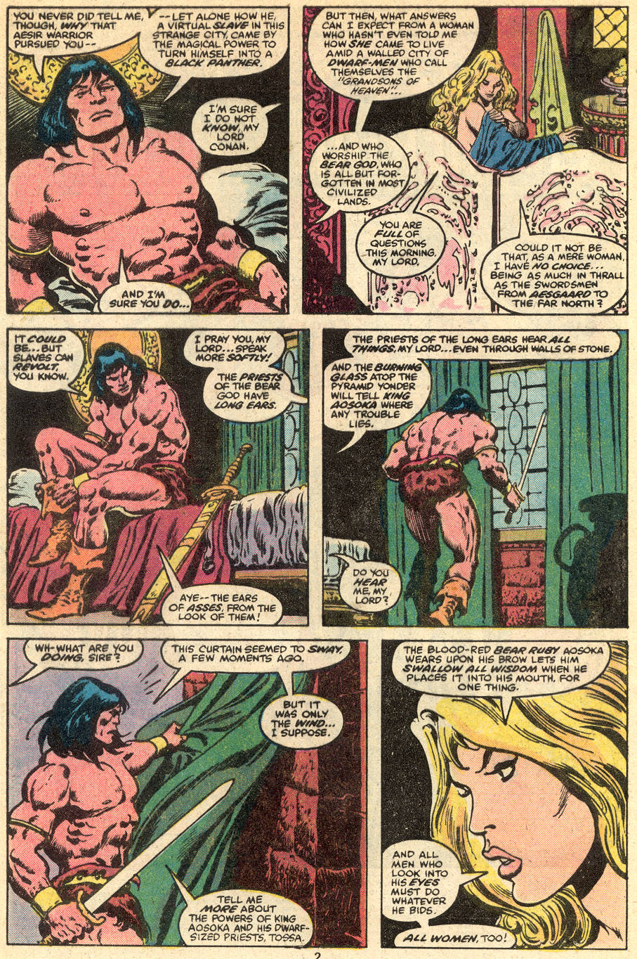Conan the Barbarian (1970) Issue #111 #123 - English 3