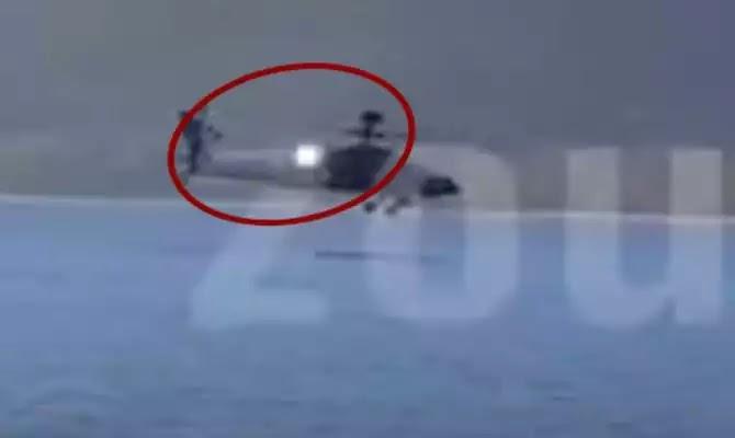 Πτώση Apache: Η λάμψη στον κινητήρα και η πιθανότερη αιτία για το ατύχημα [Βίντεο]
