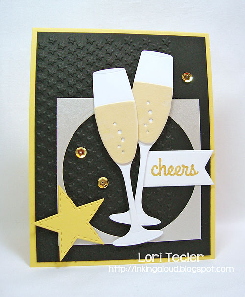 Cheers-designed by Lori Tecler/Inking Aloud-stamps from My Favorite Things