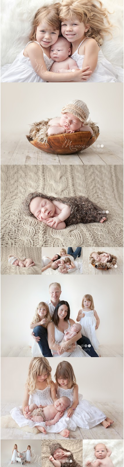 Vancouver Newborn Photography of a boy and his family
