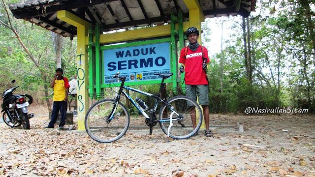 Sampai juga di Waduk Sermo, Kulon Progo