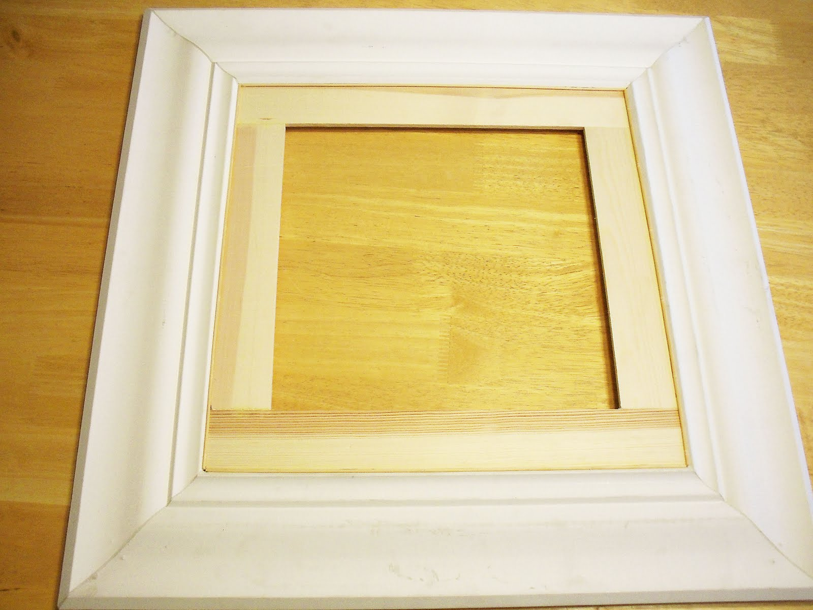 Unfinished wood mirror frames