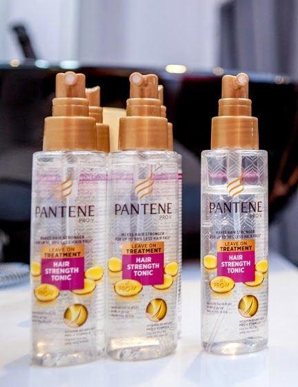 pantene pro v hair strength tonic review