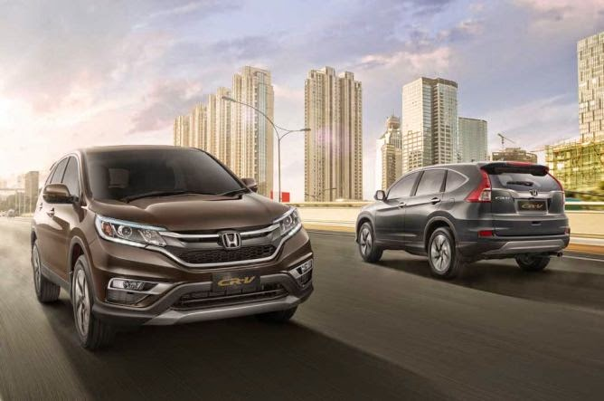 PENAMPILAN HONDA ALL NEW CRV