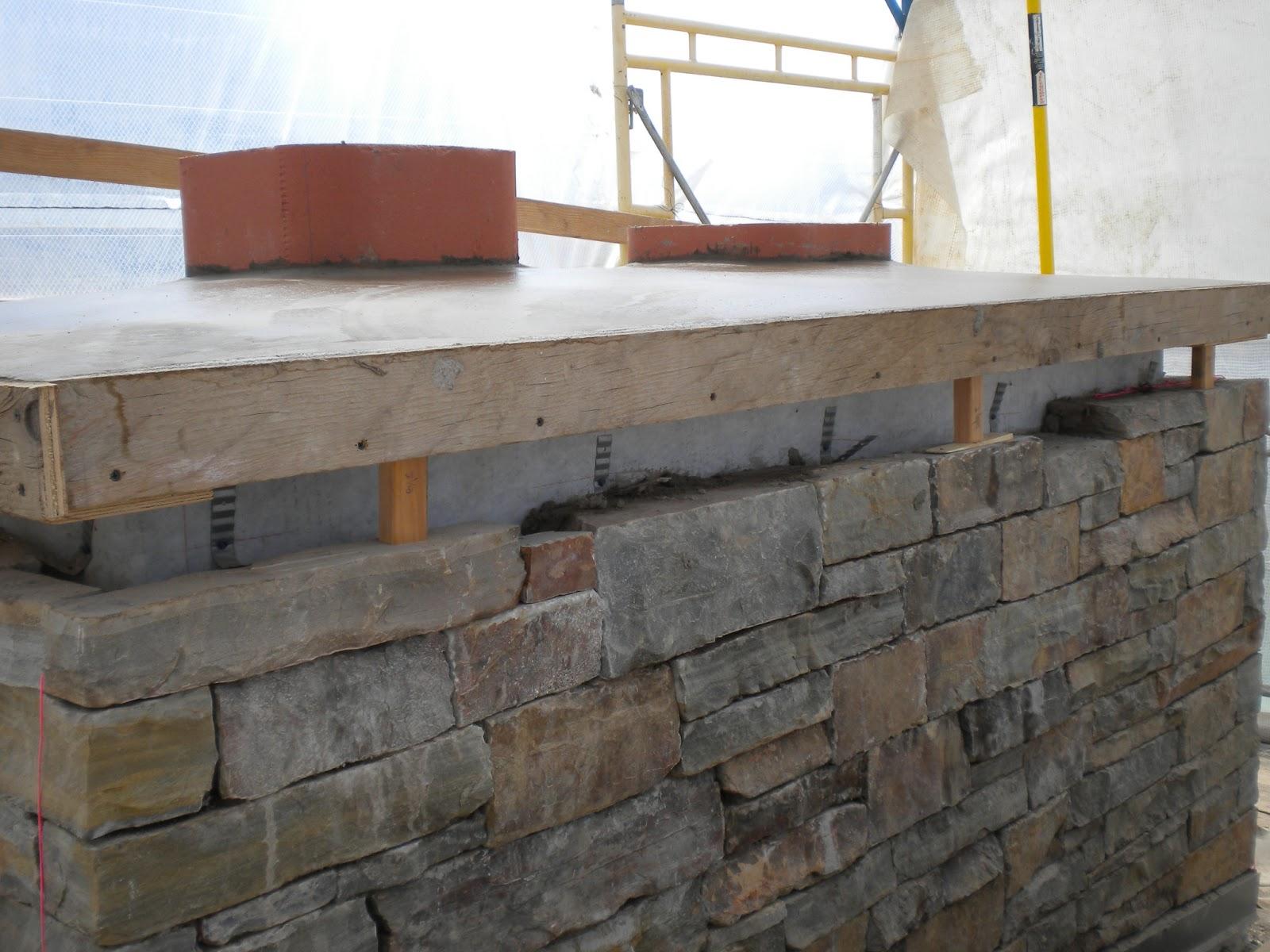 Concrete Chimney Cap : Boisineau masonry columbia project update