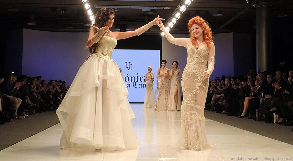 Vestidos Veronica de la Canal primavera verano 2015. Semana de la Moda primavera verano 2015.
