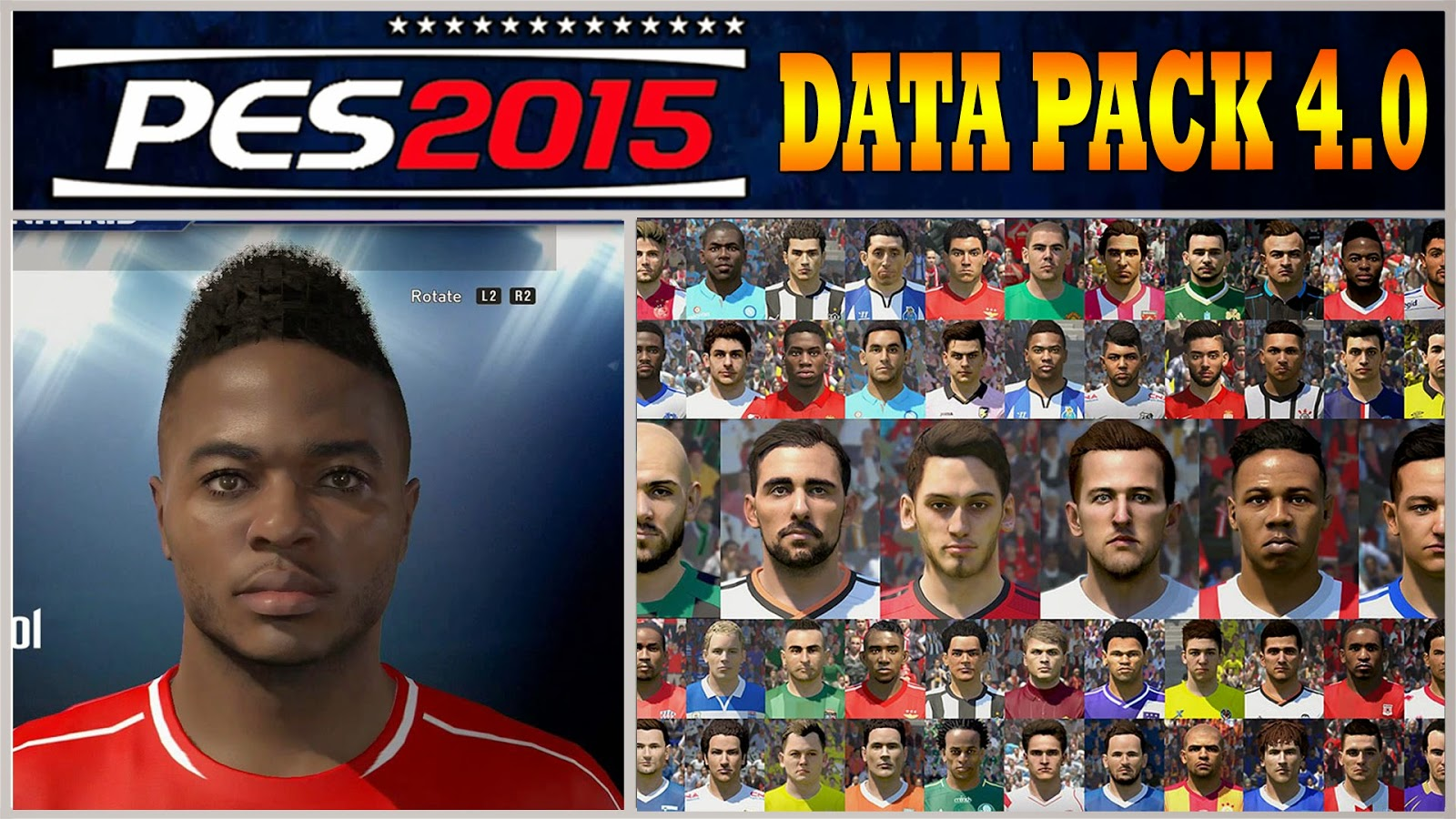 Update PES 2015 Data Pack 4.0