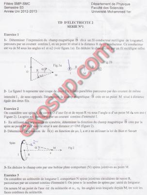 FS-Oujda TD Magnétisme Corrigé SMP S3