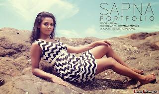Sri Lankan model Kumudu Sapna