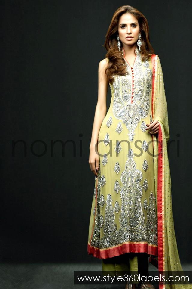 Latest Fashion Trends Nomi Ansari Latest Stylsh Outfits Collection 2013 At Style360 Labels E