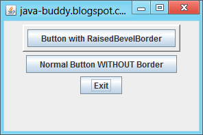 Create border using BorderFactory
