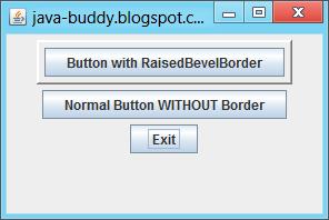 Create border using BorderFactory