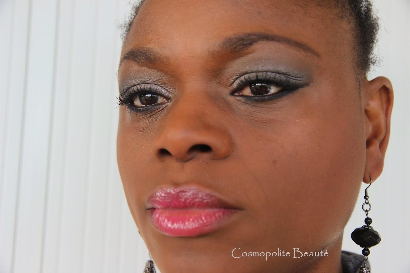 tuto makeup, pas à pas, step by step, maquillage, cosmopolite beauté, makeup, tutoriel, se maquiller, fard à paupière, eyeshadow