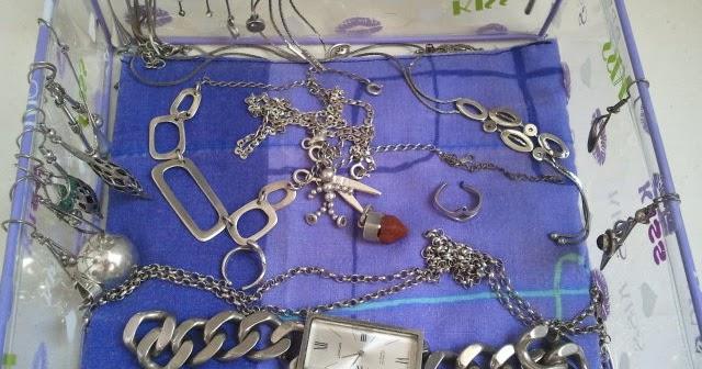 La de los truquillos evitar que la plata se ponga negra for Como limpiar un rosario de plata