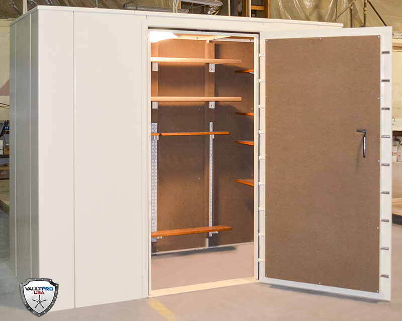 Safe and vault door reviews and how to 39 s custom modular for Gun vault room