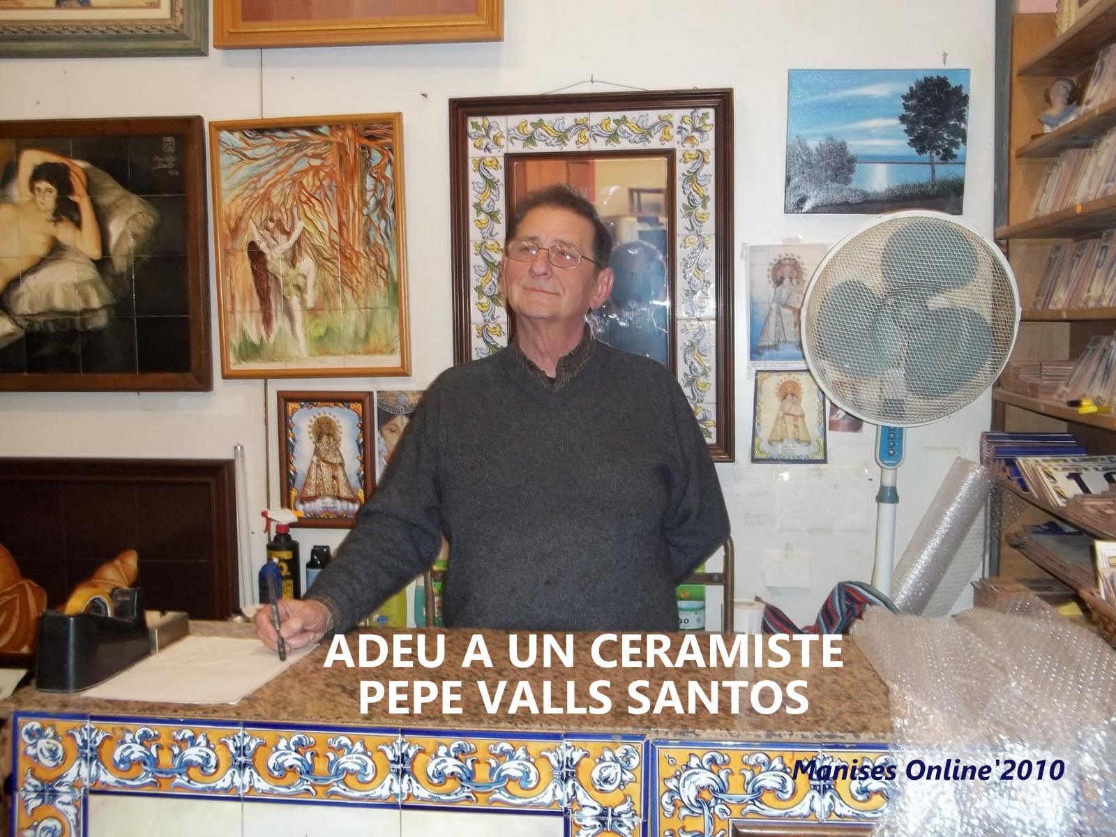 26.02.18 CERAMISTES MANISERS: PEPE VALLS SANTOS