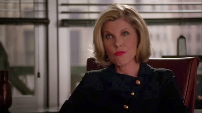 Diane Lockhart Wallpaper so on The Case – as Usual