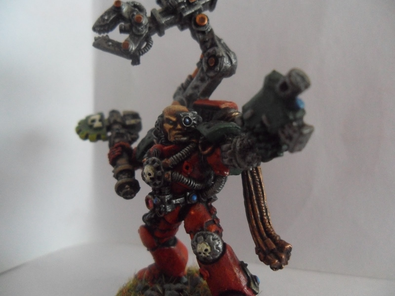 At Tacticadarkangelsblogspotcouk I Dont Use A Techmarine Often But He Recently Put In Great Performance And So Thought It Was Only Fair