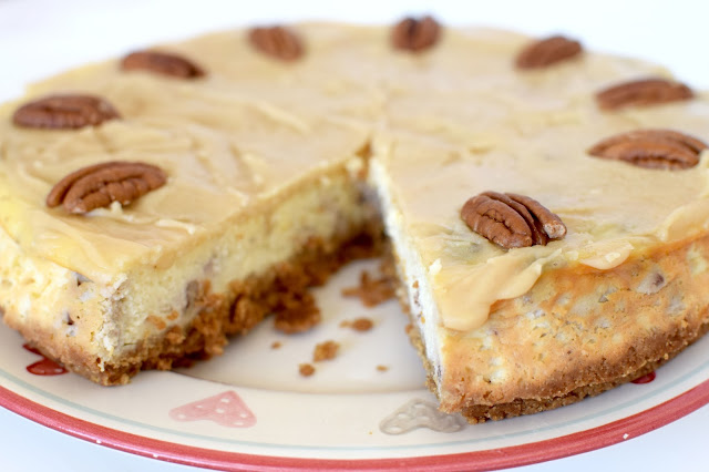 Butterscotch Pecan Cheesecake Recipe