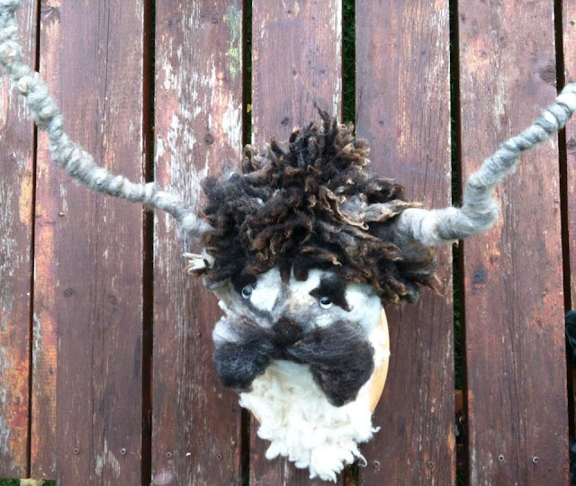 Mustache Faux Taxidermy