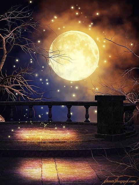 Luna dorada  ~ Imágenes de Fantasía