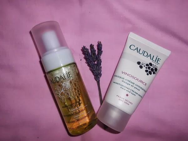 Espuma Limpiadora  y Mascarilla-Crema Hidratante  Caudalie