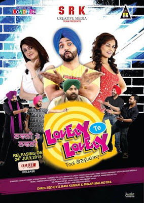 Lovely Te Lovely (2015) Punjabi Movie HDRip 300mb Download