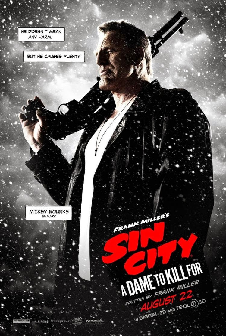 Sin City A Dame To Kill For Mickey Rourke