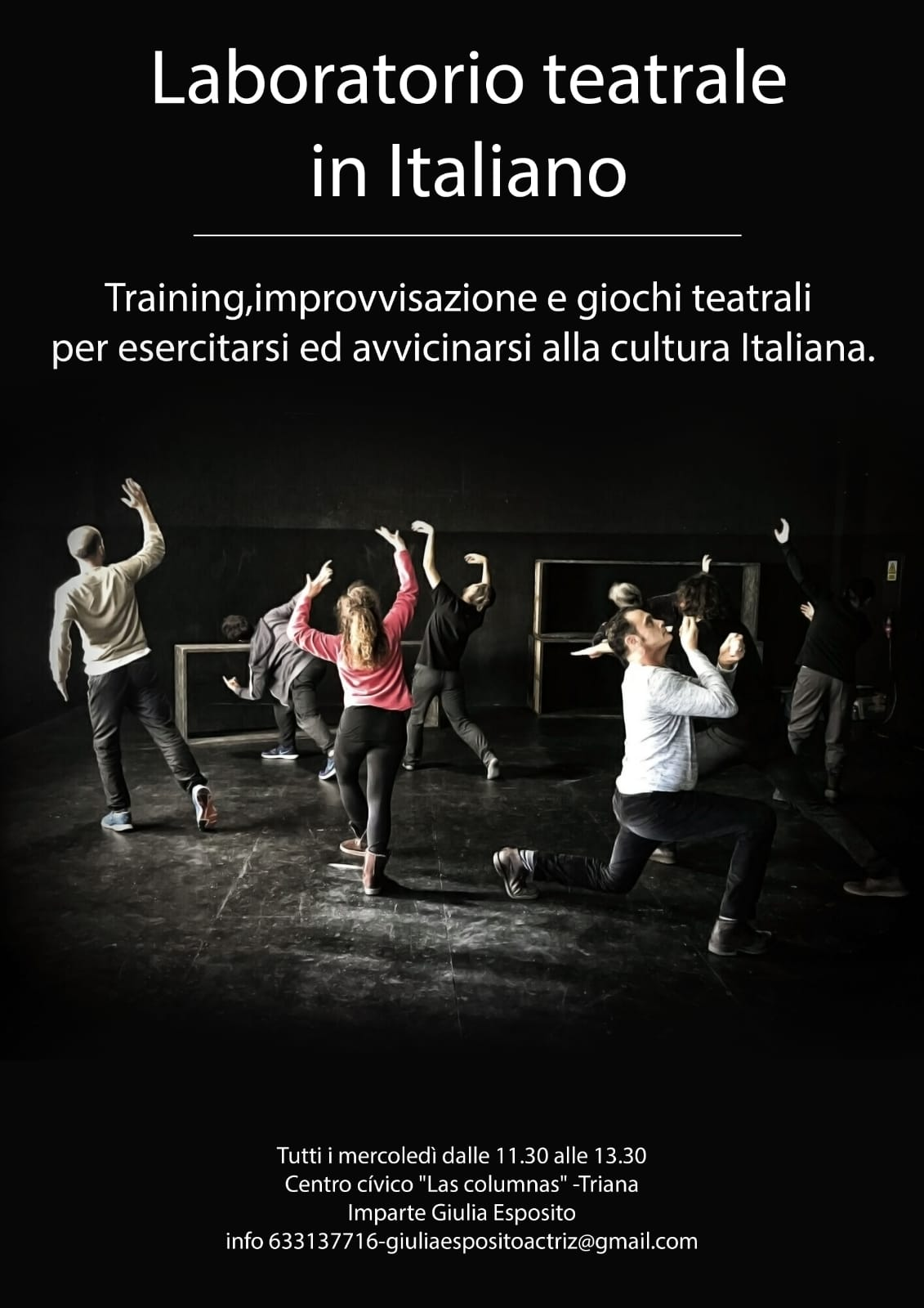 Laboratorio teatrale in italiano