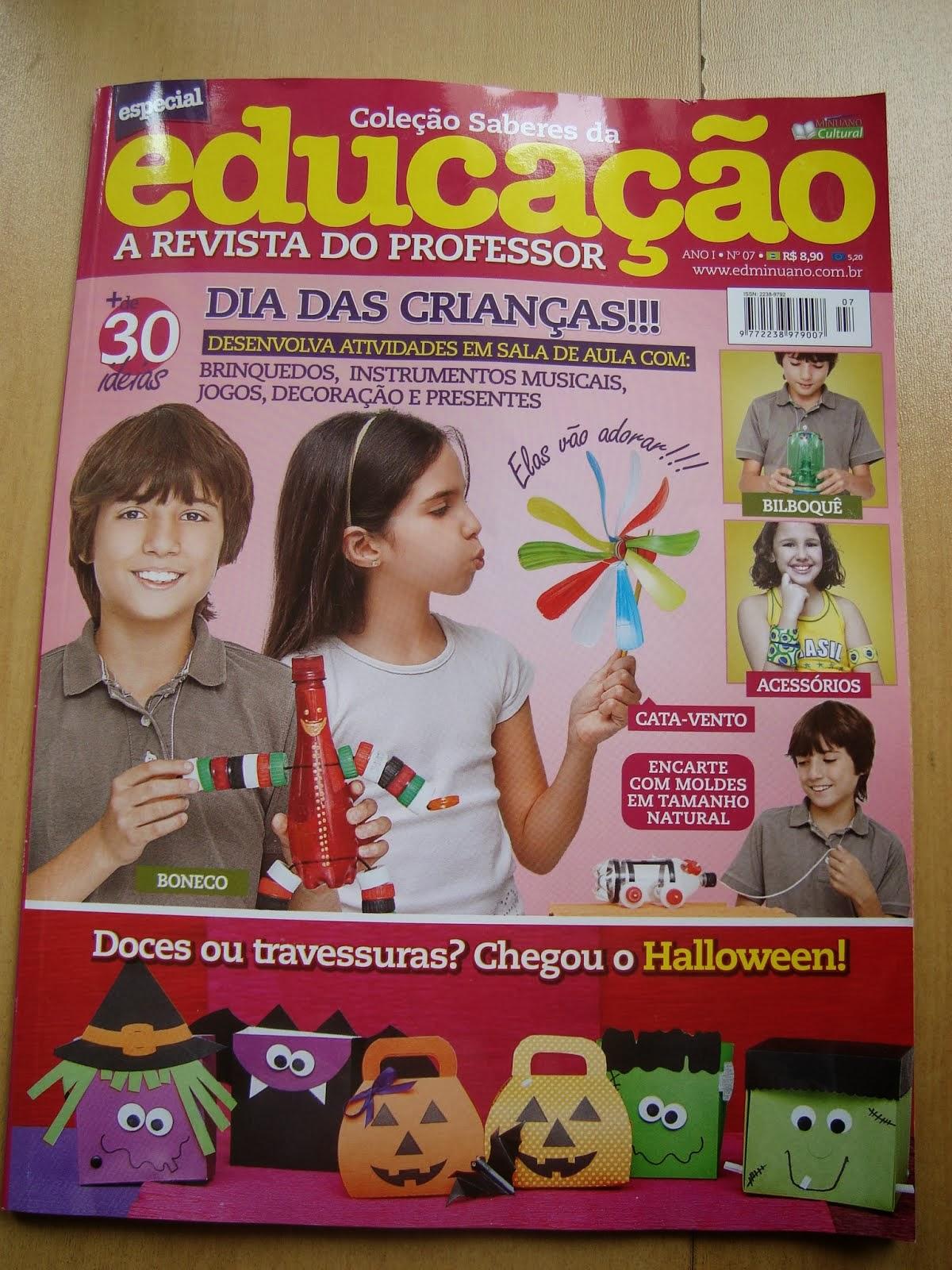 Publicações em revista
