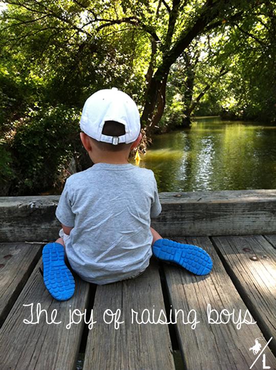 Joys of raising boys