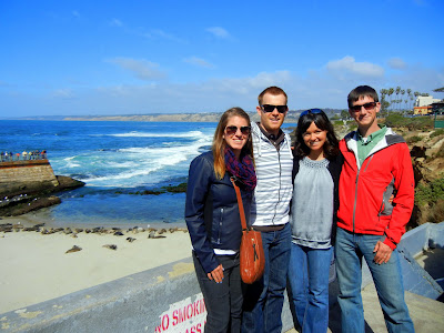 Jackie, Ben, Skyler and I in La Jolla