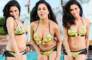 Veena Mallik in Bikini