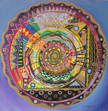 Mandala - 60 x 60 cm - 2013