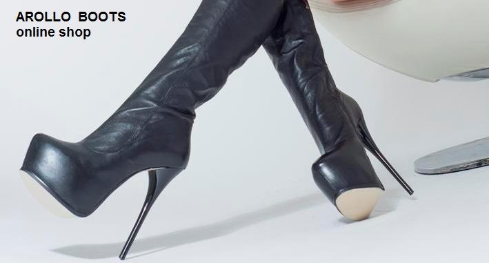 AROLLO Stiletto Overknee Stiefel und sexy lange High Heel Crotch Boots - Online Shop